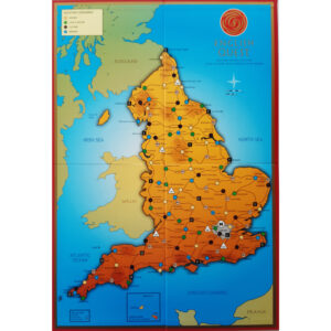 1745 Trading Company English Quest Game 2008 Board
