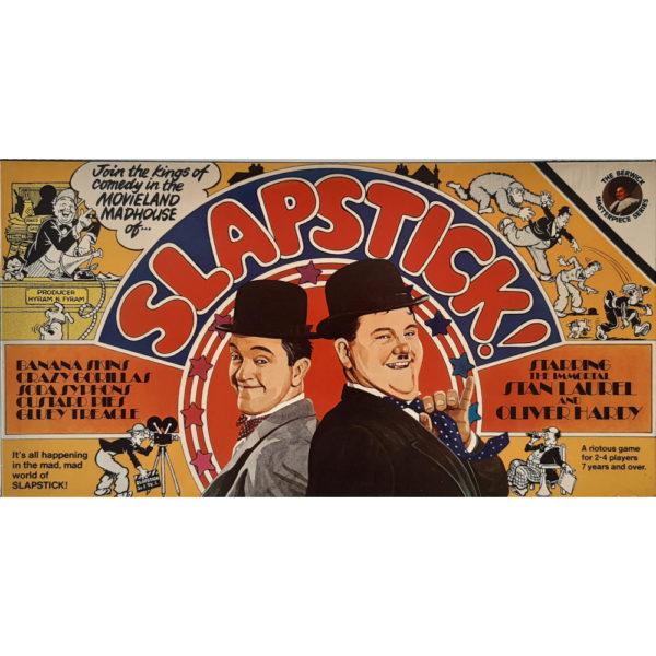 Berwick Slapstick 1975 Laurel & Hardy Vintage Game Box