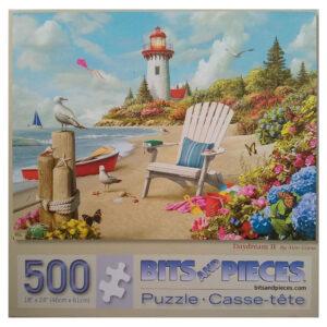 Bits and Pieces Daydream II Summer Beach Scene by Alan Giana 42120 500 pieces jigsaw box