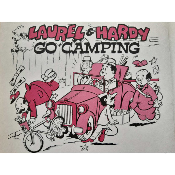 Brown Watson Larry Harmon Laurel Hardy Annual No 1 Book 1972 Detail Go Camping Cartoon
