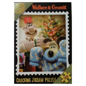 Cheatwell Games Wallace Gromit Cracking Jigsaw Puzzle Patented Knito Matic Christmas Jumper