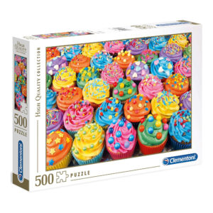Clementoni Colorful Cupcakes 35057 Jigsaw Puzzle Box