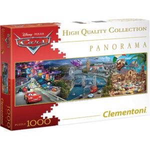 Clementoni Disney Pixar Cars Panorama 39348 1000 pieces jigsaw box