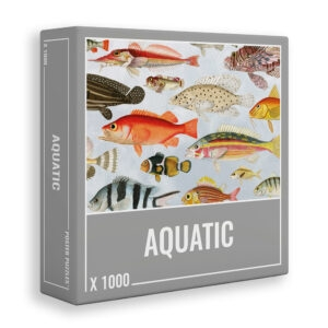 Cloudberries Aquatic fish jigsaw 1000 pieces box