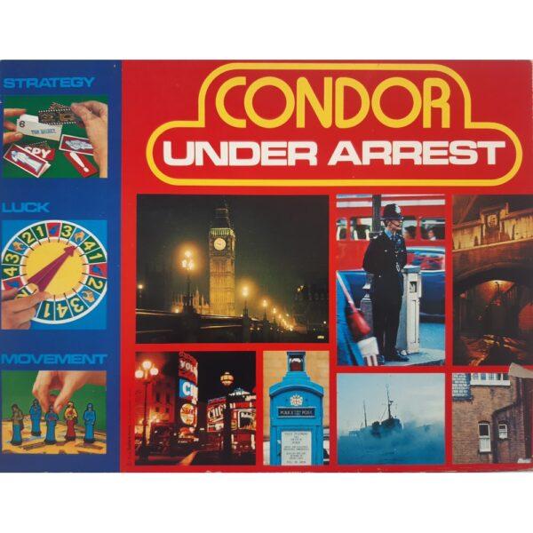 Condor Under Arrest Game Box c1970s