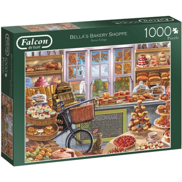 Falcon Bellas Bakery Shoppe 11203 Jigsaw Box Bread and Cake Shop Scene by Steve Crisp