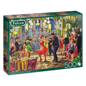 Falcon Dancing the Night Away 11291 500 pieces Jigsaw Box 1920s Ballroom Scene by Steve Crisp