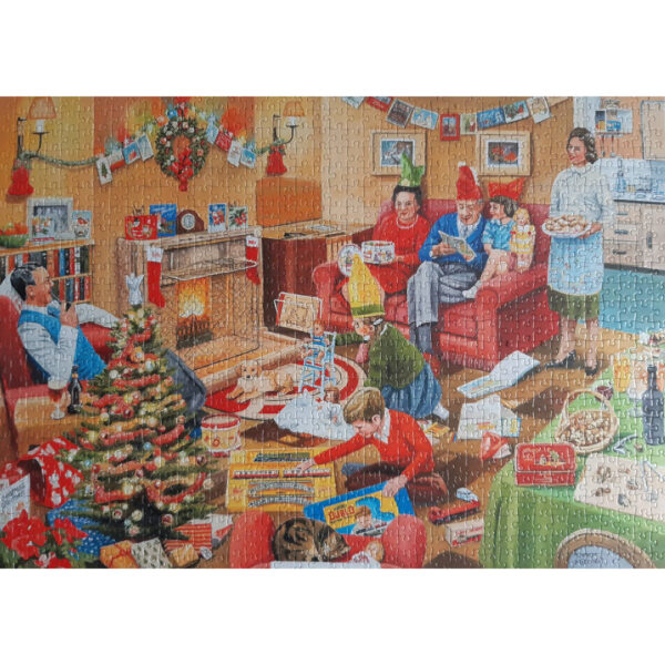 Falcon Home for Christmas 2x1000 10995 Jigsaw Home Complete