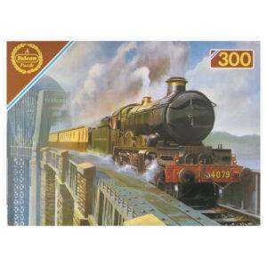 Falcon Steamtrains Castle Class GWR Rob Johnson 300 pieces Jigsaw Box
