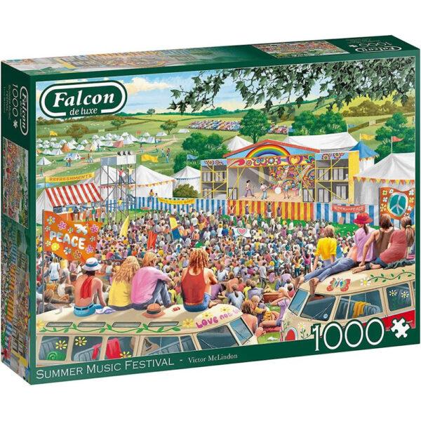 Falcon Summer Music Festival 11304 Jigsaw Box by Victor McLindon