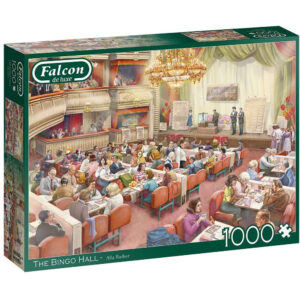 Falcon The Bingo Hall 11316 1000 pieces Jigsaw Box Nostalgic Scene by Alla Badsar