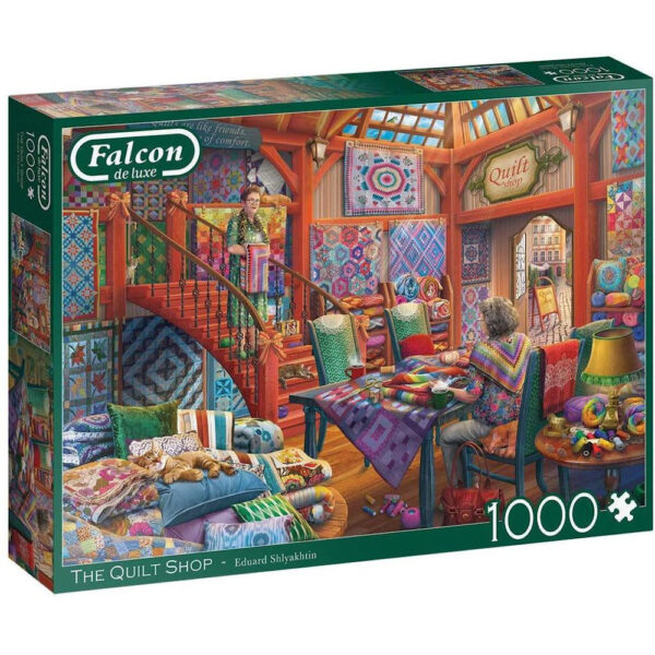 Falcon The Quilt Shop 11285 Jigsaw Box by Eduard Shlyakhtin