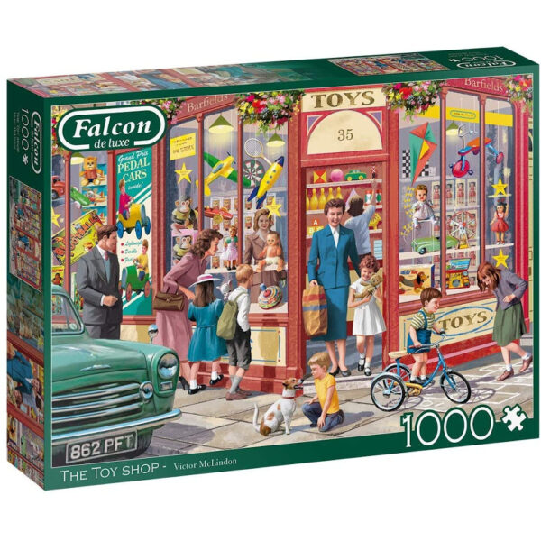 Falcon The Toy Shop 11284 Jigsaw Box Nostalgic Scene by Victor McLindon