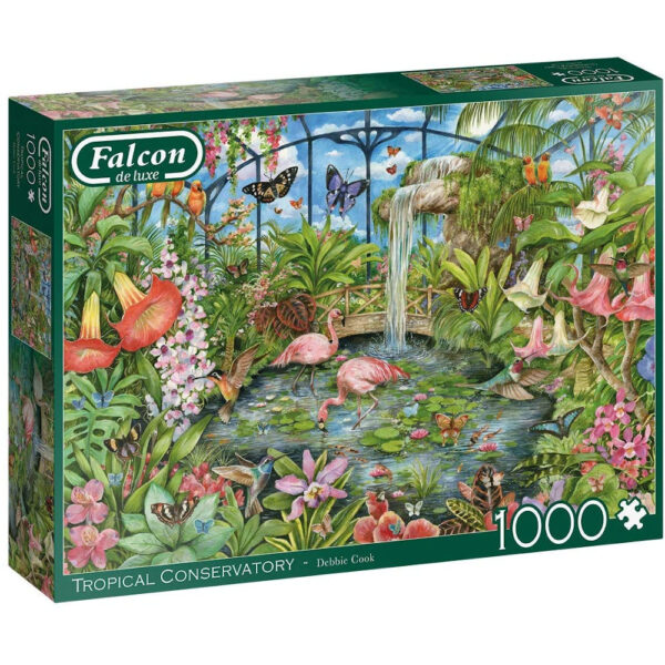 Falcon Tropical Conservatory 11295 Jigsaw Box by Debbie Cook