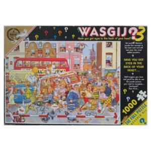 Falcon Wasgij Original 3 Full Monty Fever by Graham Thompson No 3857 1000 pieces jigsaw box