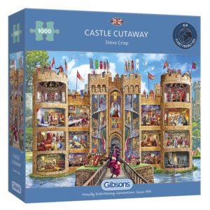 Castle Cutaway - 1000 pieces