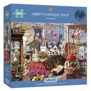 Abbey's Antique Shop - 1000 pieces