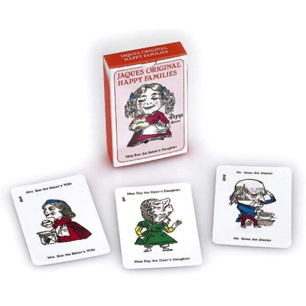 G661 Gibsons Pepys Jaques Original Happy Families Card Game