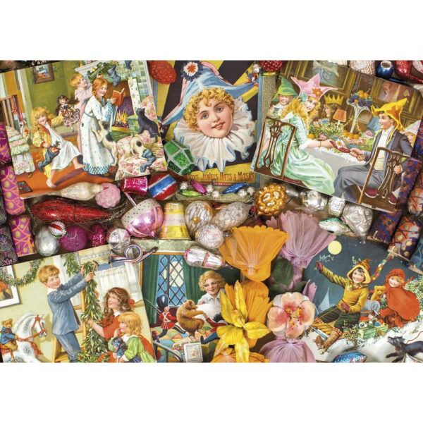 G7094 Gibsons Christmas Festive Fun Jigsaw Nostalgic Images from the Robert Opie Collection
