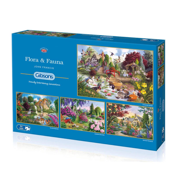 Gibsons Flora and Fauna G5025 Jigsaw Box