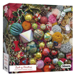 Gibsons G6605 Taste of Christmas Jigsaw Box Decorations Image by Rachel Emma Waring