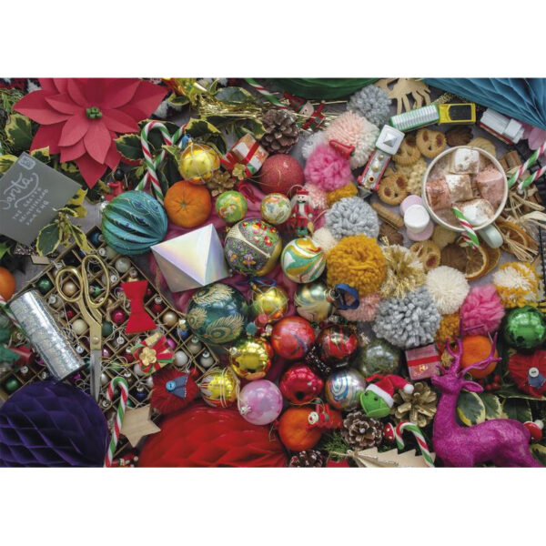 Gibsons G6605 Taste of Christmas Jigsaw Image Decorations Image by Rachel Emma Waring