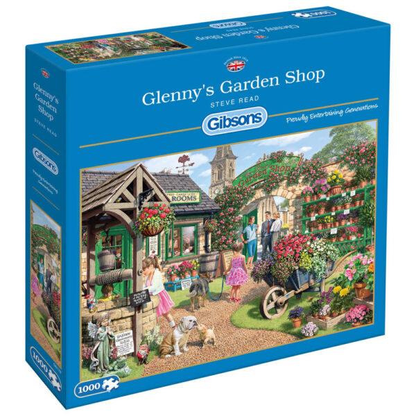 Gibsons Glennys Garden Shop G6178 Jigsaw Box