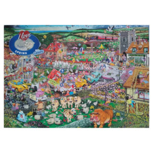 Gibsons I Love Spring by Mike Jupp G7021 1000 pieces Jigsaw Box Later Version