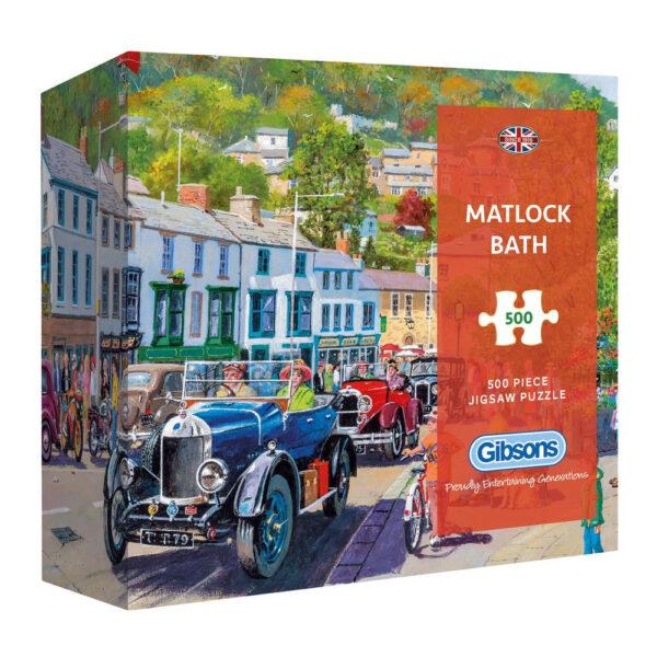 Gibsons Matlock Bath G3435 Jigsaw Gift Box 500 pieces by Derek Roberts