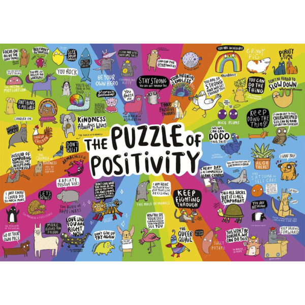 Gibsons Puzzle of Positivity G6608 Jigsaw Image