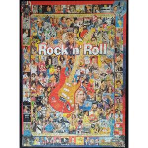 Gibsons Rock n Roll Jigsaw G7006 Complete