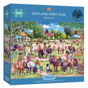 Gibsons Shetland Pony Club G6311 Jigsaw Box by Debbie Cook