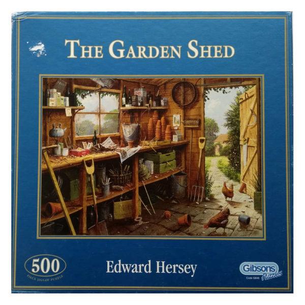 Gibsons The Garden Shed G846 Jigsaw Box
