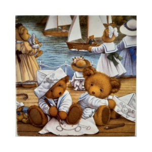 Gibsons G620 Upstairs Downstairs Bears The Boat Race Jigsaw Box