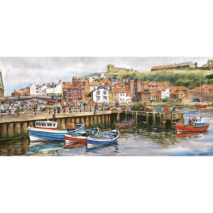Gibsons Whitby Harbour G374 Jigsaw Image 636 pieces by John Wood