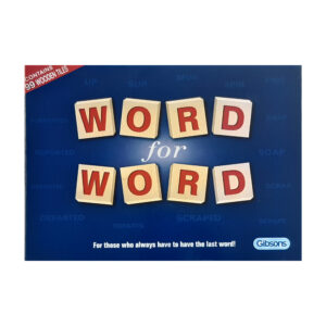 Gibsons Word for Word Game 2011 Box - for those who always have to have the last word!