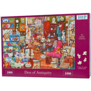 HOP Den of Antiquity Jigsaw Puzzle Box Antiques Shop Scene The Ardmair Collection