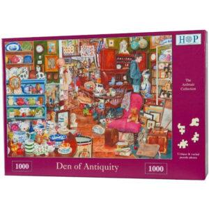 HOP Den of Antiquity Jigsaw Puzzle Box Antiques Shop Scene The Ardmair Collection