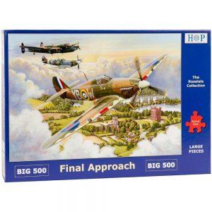 HOP Final Approach Fighter Planes Big 500 Jigsaw Box