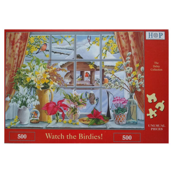 HOP Watch the Birdies Delny Collection by Keith Stapleton 500 pieces jigsaw box