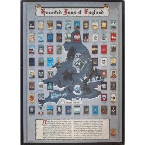 Heraldic Heritage Haunted Inns of England Jigsaw Box Inn Signs Montage