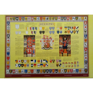 Heraldic Times The Heraldry Chart Jigsaw Box