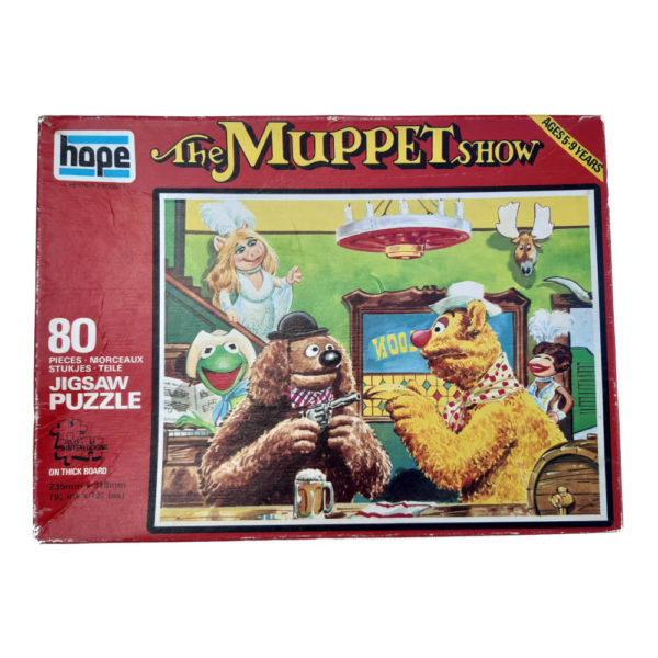 Hope The Muppet Show Collectable Jigsaw Box Bar Scene Miss Piggy