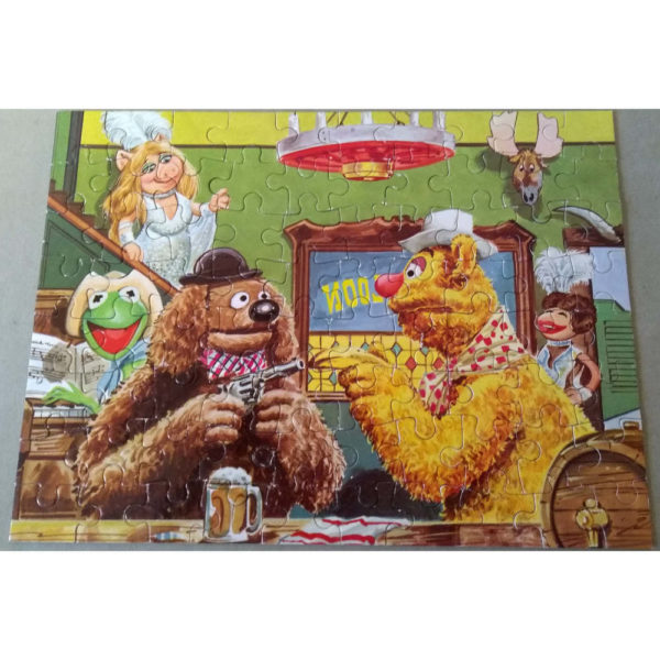 Hope The Muppet Show Vintage Collectable Jigsaw Complete Bar Scene Miss Piggy