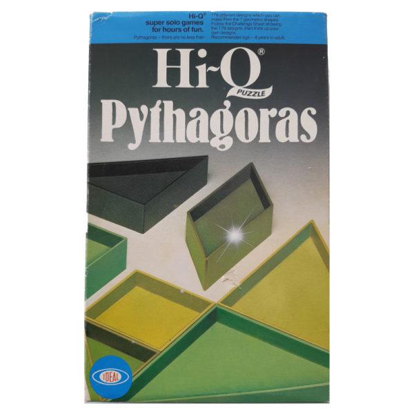 Emporium Ideal Hi Q Pythagorus 1975 Vintage Game Box