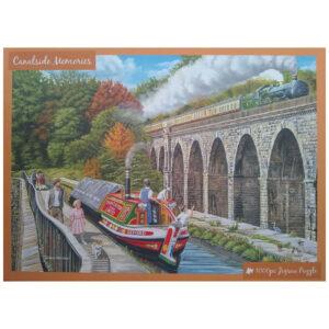 Innovakids Canalside Memories Trevor Mitchell 1000 pieces jigsaw box