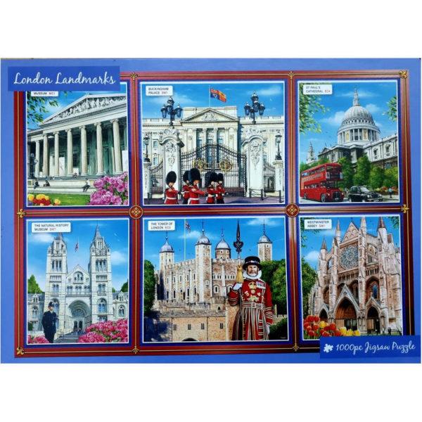 Innovakids London Landmarks Jigsaw Box
