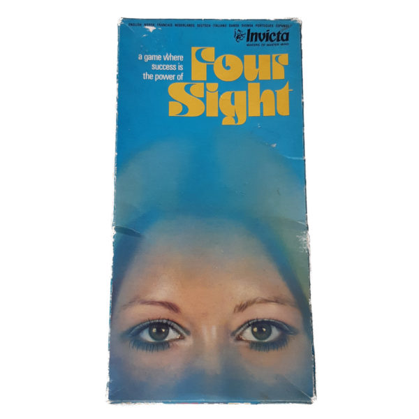 Invicta Four Sight 1975 Vintage Game Box