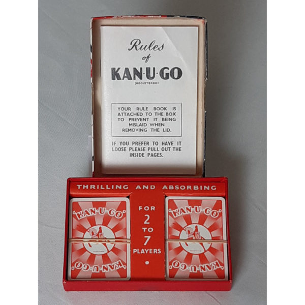 Jarvis Porter Ltd Kan U Go 1934 as per instructions copyright Vintage Game Contents Instructions