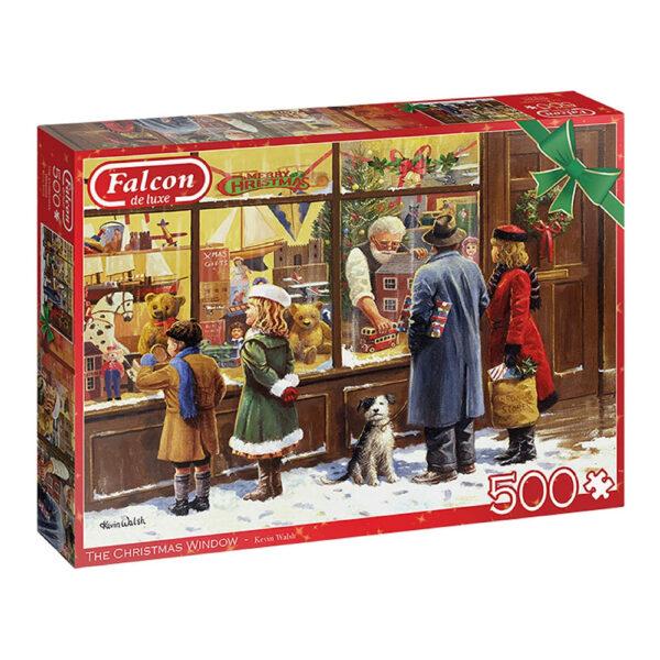 Jumbo Falcon The Christmas Window 11271 Jigsaw Box Nostalgic Toy Shop Image by Kevin Walsh